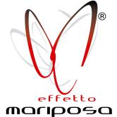 effetto mariposa butterfly wings design logo