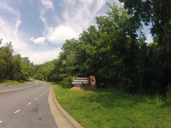 North Entrance - Shenandoah National Park