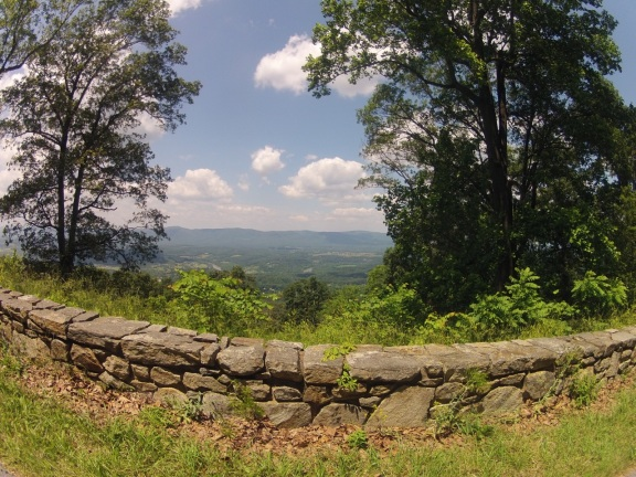 First scenic overlook