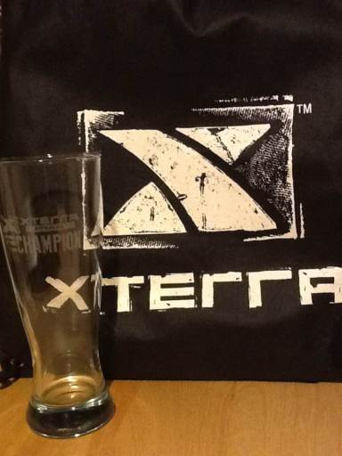 Xterra Appalachia Champion beer glass