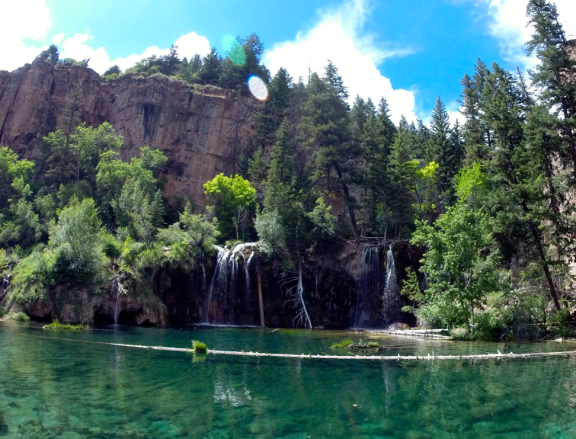 It's easy to see why Hanging Lake is one of the most popular hikes in Colorado