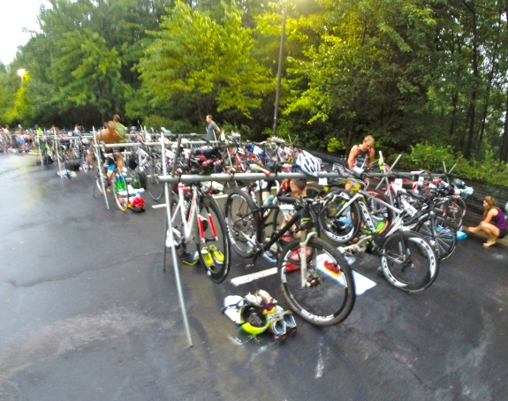 First road tri in ages! Shared a bit of the off-road experience with fellow racers.