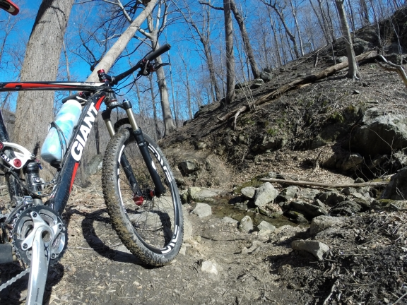 Nothing like a pair of bomb-proof wheels for an all-day adventure on 33-mile single track laps in Patapsco State Park
