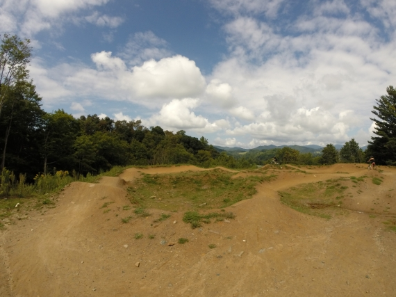 Rocky Knob might be the most progressive bike park in NC. There is something to challenge and delight everyone.