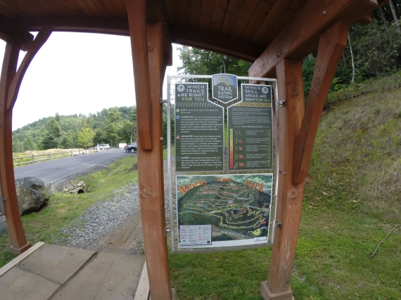 This relatively new trail system has fantastic facilities, trail signage, trail descriptions, guidance for skill progression