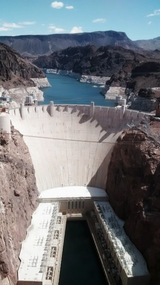 The water level at the Hoover Dam was at an all-time low the day we visited. Yet another reminder of the severity of the drought in the southwest.