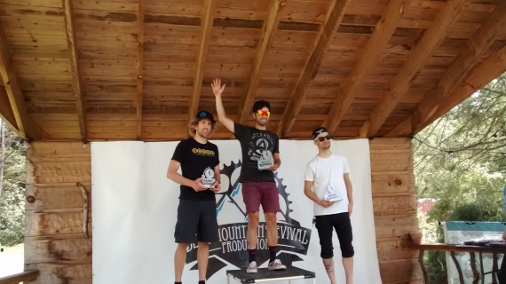 2nd place in the under-30 division and 7th overall. Not to bad for riding my mountain bike against some sneaky roadies!