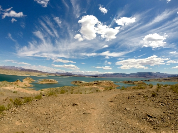 The serenity of Lake Mead, in its own right, was well worth the trip