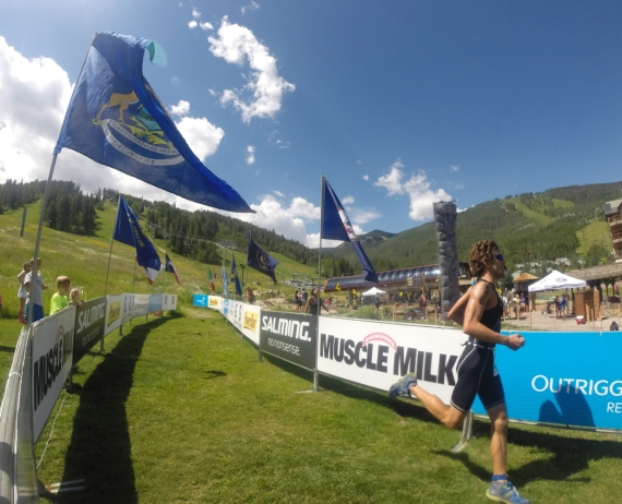 Elated with another podium performance at the Xterra mountain championship
